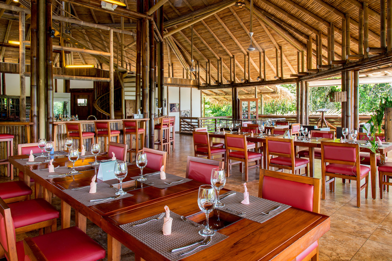 Restaurant La selva lodge - Yasuni Rainforest Lodges