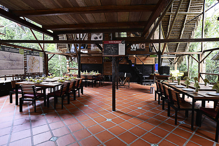 Comedor Jamu Lodge - Cuyabeno Rainforest Lodge