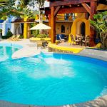 Pool Mantarraya Lodge - Lodges Ecuador