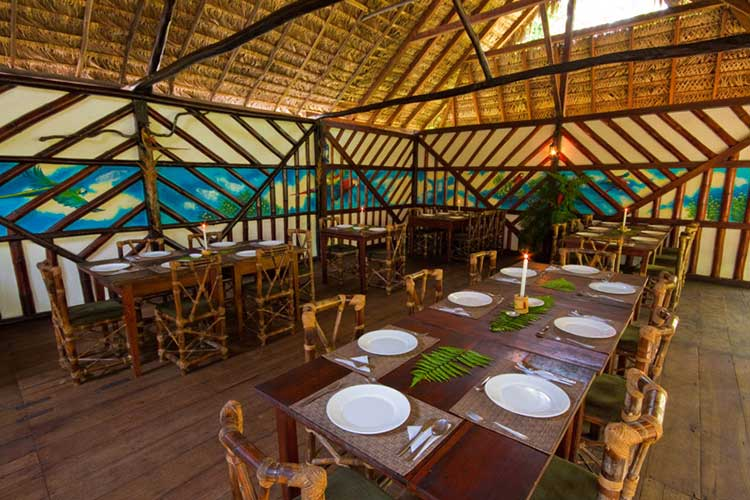 Restaurant Selina Lodge - Lodges Ecuador