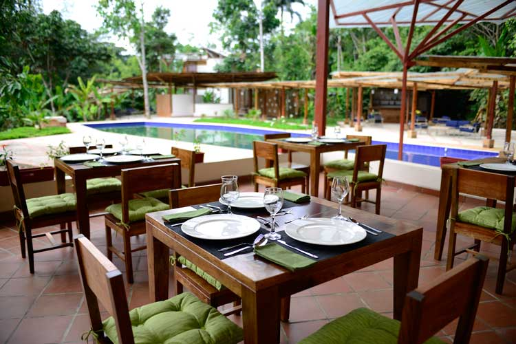 restaurant Itamandi Lodge - Upper Napo River Lodges