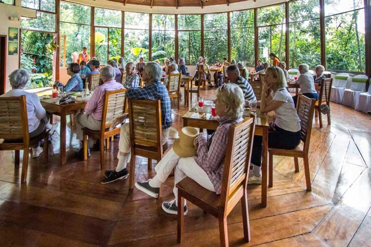 Restaurant Pacoche Lodge - Lodges Ecuador